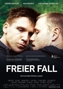 Poster for the film Freier Fall